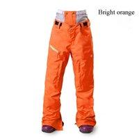 Wholesale New Women Ski Pants Outerswear Skiing Pant Snowboarding Skiing Pants Windproof Thermal Snowboard Pantalones