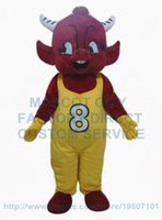 adult bull costume - little red bull mascot costume adult size cutomizable cartoon cattle theme anime cosply costumes carnival fancy dress