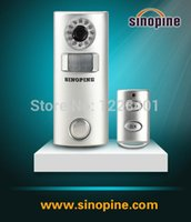 Wholesale Alarm Wireless Solar automatic photographic alarm SP63C DIY Low power consumption Automatic alarm Security