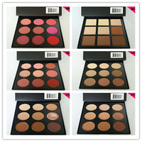 Wholesale New morphe eyeshadow concealer blusher colors Earth Matte Eyeshadow Palette Makeup Eye Shadow for MORPHE BRUSHES DHL free