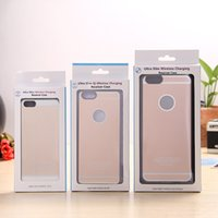 apples wireless cases - wireless charger receiver case with retail box for Iphone Apple S S S Plus
