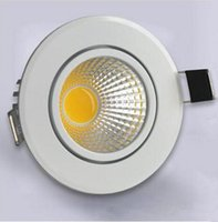 bath lighting ceiling - Factory direct sale High quality W W W COB Led down light LED Recesse Ceiling down lamp Bath room Indoor Home lamp LED Driver AC85 V