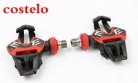 Wholesale discount sale costelo Xpresso Titan Carbon Pedals Road Bike Pedals Road Bicycle Parts Pedal lock card bicycle shoes parts