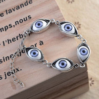 angels eyes selling - 2016 European and American retro hand woven ITC popular big selling personalized angel eyes bracelet factory outlets
