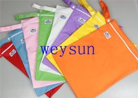 Wholesale Waterproof Babyland Wetbag Zipper wet bags Diaper Bags