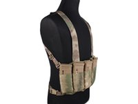 Wholesale SPEED SCAR H Chest Rig MOLLE Emerson Chest Rig Vest Camouflage Paintball Combat Tactical Vest ATFG