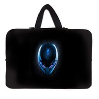 acer netbooks - Alien Head quot Notebook Fashion Soft Sleeve Case Pouch Bags For Apple Lenovo Dell HP Acer Inch Netbooks Laptop Bag For Men