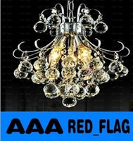 Wholesale Modern Luxury K9 crystal Pendant Light Crystal Chandeliers LED Living Room Hotel Bar Corridor Lighting Fixture LLFA713