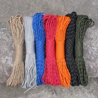 Wholesale Best Selling Paracord Parachute Cord Mil Spec Type III Strand FT Nylon Lanyard Rope Outdoor Climbing Equipment