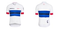 Wholesale Sky Cycling Jersey Short Sleeve Tops Pro Team Sky Cycling Clothing Maillot Bike Bicycle Wear