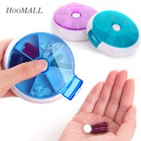 american medicine - Portable Days Travel Medicine Box Pill Vitamin Box Tablet Holder Organizer Dispenser Case cm Random Color order lt no track