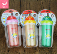 baby cup straw - Maternal And Kids Supplies Mumlove Baby Water Cup With Straw Direct Deal Baby Trainer Cup With Tube