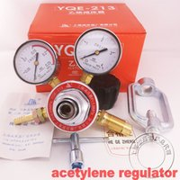 Wholesale acetylene regulator Oxygen pressure reducing regulator pressure maintaining valve pressure gauge oxygen regulator