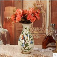 Wholesale Creative ceramic vase home living room table decorative arts and crafts Christmas decorations business gifts