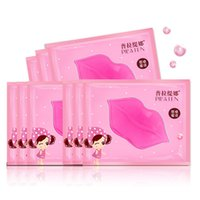 Wholesale Pilaten Lip Masks Lip Care Exfoliating Moisturizing Lip Treatment Crystal Collagen Lip Mask Pink Lip For Woman