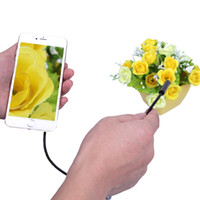 Wholesale Android iPhone Wifi Endoscope Camera m m m m Smart Android iPhone USB Borescole Inspection Snake Tube Camera