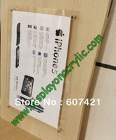 Wholesale Units A3 Wall Mounted Acrylic Plexiglass Poster Frames Advertising Boards For Displaying A3 Posters