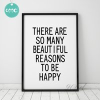 art inspiration quotes - Inspiration Quote Canvas Art Print Painting Poster Wall Pictures For Living Room Decoration Wall Decor FA040