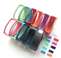 Wholesale Wristband For Samsung Gear Fit R350 Bands Strap With Fasteners Set Multi Color