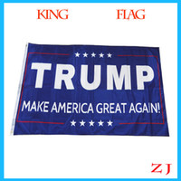 banner making - Trump flag make america great again ftx5ft Banner Polyester Flag metal Grommets x150cm With Brass Grommets