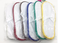Wholesale Brand New pairs Mixed Color Wrapping disposable Slipper Hotel and Restaurant Supplies