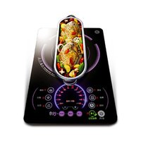 Wholesale long plate induction cooker dual core ultra thin special induction cooker family expenses Kitchen Appliances