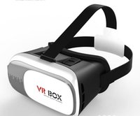 Wholesale New Hot VR BOX II D Glasses VRBOX Upgraded Version Virtual Reality D Glasses for inch Smartphone