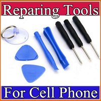 Wholesale Cell Phone Reparing tools in Repair Pry Kit Opening Tools Pentalobe Torx Slotted screwdriver For Apple iPhone S s moblie A GJ