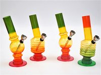 acrylic colours - 1 X Acrylic Colourful lines on Sheesha waterpipe Bong CM CM random colours available by ACRYLIC WATERPIPE