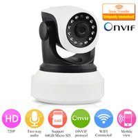 Wholesale High Quality HD Wireless IP Camera P Night Vision Security Camera P2P ONVIFI Indoor IP WIFI Camera