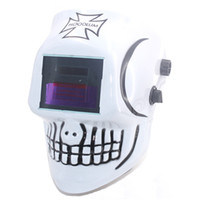 automatic tig welding - Skull AAA battery Solar automatic darkening TIG MIG MMA MAG welding mask helmets face mask weld goggles eye protection goggles