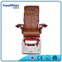 Wholesale 2016 crystal resin bowl Nail Beauty Salon Equipment shiatsu Massage Fiberglass Basin Gel coat Discharge Pump Pipless Jet Pedicure Spa Chair