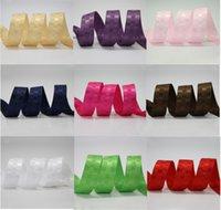al por mayor comprobar cintas-Bulk Dobby Plaids / Check Gingham Cinta DIY Cabello Arcos Accesorios 100yards / rollo muchos colores tamaños 9mm 16mm 25mm 38mm