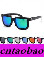 venda por atacado sunglasses in china-A melhor qualidade em China Óculos de sol retros super super novos da caixa de óculos de sol de M do mosaico M para homens e mulheres RT1028 MOQ = 10pcs FREESHIPPING