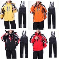 Wholesale Men s Ski Suit New Combination Odd And Even Professional Snowboarders Ski Jacket Pants Windproof Waterproof Men s Jackets