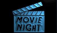 beer film - LS1102 b Movie Night Film Cinema Bar Beer Neon Light Sign jpg