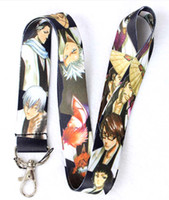anime mobile phone strap - Hot New Japanese anime BLEACH Lanyards Straps For ID Badge Mobile Phone