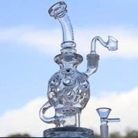 bowling ball - 2016 Newest Glass Bongs Oil Rigs Mothership Glass Design Eggosphere combo of ball rig with glass bowl