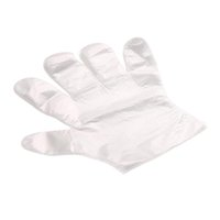 Wholesale 100pcs Eco friendly Disposable Plastic Gloves for Restaurant Hotel Handling Raw Chicken OCEA