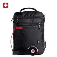 Wholesale hot Shoulder Bag Small Messenger Bag for Tablets and Documents Men s Black Handbag inch Crossbody Bags for students