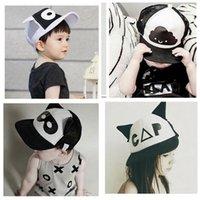 baseball masks - Baby INS caps hats Snapback Baseball Hat children Fashion Cartoon Batman ins clouds mask Sports Hat Hip Hop cap design KKA311