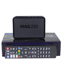 Wholesale Mag250 Android Smart TV Box IPTV Video Mag Channels Set Top Box STB Google Internet Quad Core Media Player VS Mag254