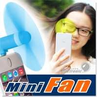 Cheap For Apple iPhone 6 6s Plus Mini USB Air Fan 5Pin Flexible Portable Super Mute Cooler hand-held Cooling For Android Smart Phone With Package