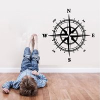 bedroom cupboard designs - Compass sticker removable wall sticker home decoration removable DIY wall window door kids room cupboard stickers