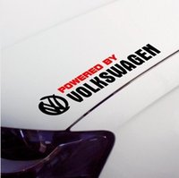 Wholesale car styling waterproof reflective car sticker and vinyl decals for All volkswagen polo golf jetta tiguan