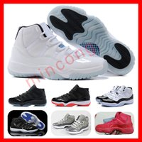 Venta al por mayor Leyenda Azul Zapatos de baloncesto (11) XI Mejor Calidad Hombres Zapatos deportivos Womenmens Entrenadores Athletics Botas Retro 11 XI Zapatillas baratos