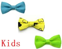 best party store - Kids Bow Tie Online Store Students Bow Tie Solid Color Children Party Performance Page Boy Bow Tie Best Price