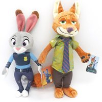 baby dall - 2016 New Zootopia Movie Plush Dall Rabbit Judy and Fox Nick Kids Toys cm Stuffed Toys Zootopia Dolls Baby Birthday Gift