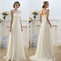 Wholesale 2016 New White Ivory Wedding Dress Bridal Gown Size w