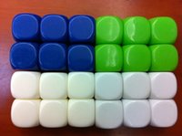 Wholesale sided mm Square corners blank dice can be written by pen for board game and other game accessories